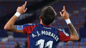 El golazo de Morales tras un fallo del Barça en la salida de balón