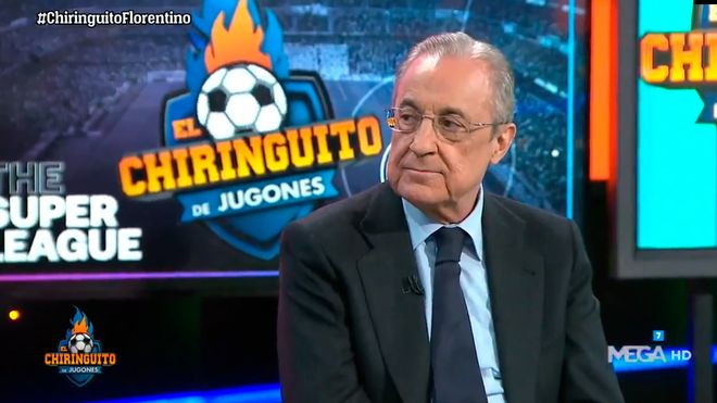 Florentino Pérez: La situación del fútbol es mala