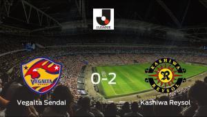 El Kashiwa Reysol gana 0-2 en el estadio del Vegalta Sendai