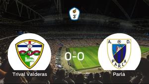 El Trival Valderas y el Parla se reparten los puntos en un partido sin goles (0-0)