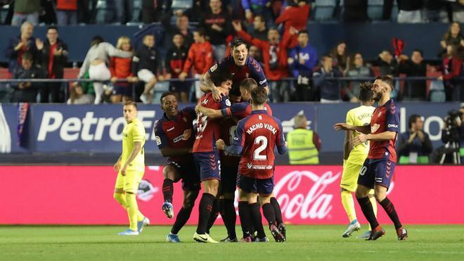 La reciente victoria del Osasuna sobre el Villarreal lo ha ayudado a alejarse del descenso