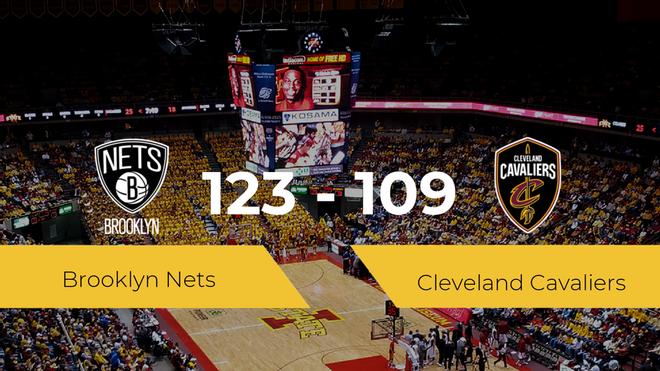 Victoria de Brooklyn Nets ante Cleveland Cavaliers por 123-109