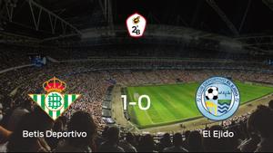 El Betis Deportivo se hace fuerte en casa y consigue vencer a El Ejido (1-0)