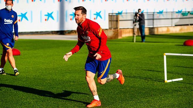 El Barça empieza a preparar el duelo contra el Getafe con sus internacionales