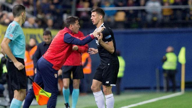 LALIGA   Villarreal - Sevilla (2-3): Lenglet marcó el primer gol de la remontada
