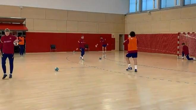 El Barça de balonmano comienza a preparar los cuartos de final de la Champions