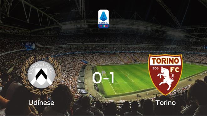 El Torino se impone al Udinese y consigue los tres puntos (0-1)