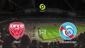 El Dijon FCO y el Racing Estrasburgo se reparten los puntos tras su empate a uno