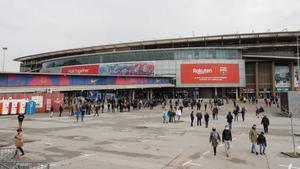 El Camp Nou, durante la jornada electoral del FC Barcelona
