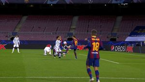 La mano de Lenglet en el área y el gol de la Juventus que sentenció al Barça