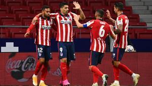 El Atlético se hace fuerte en Liga
