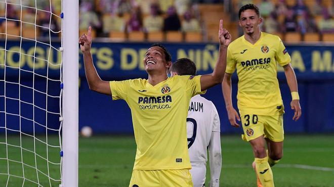 Bacca fue el protagonista del Villarreal con un doblete