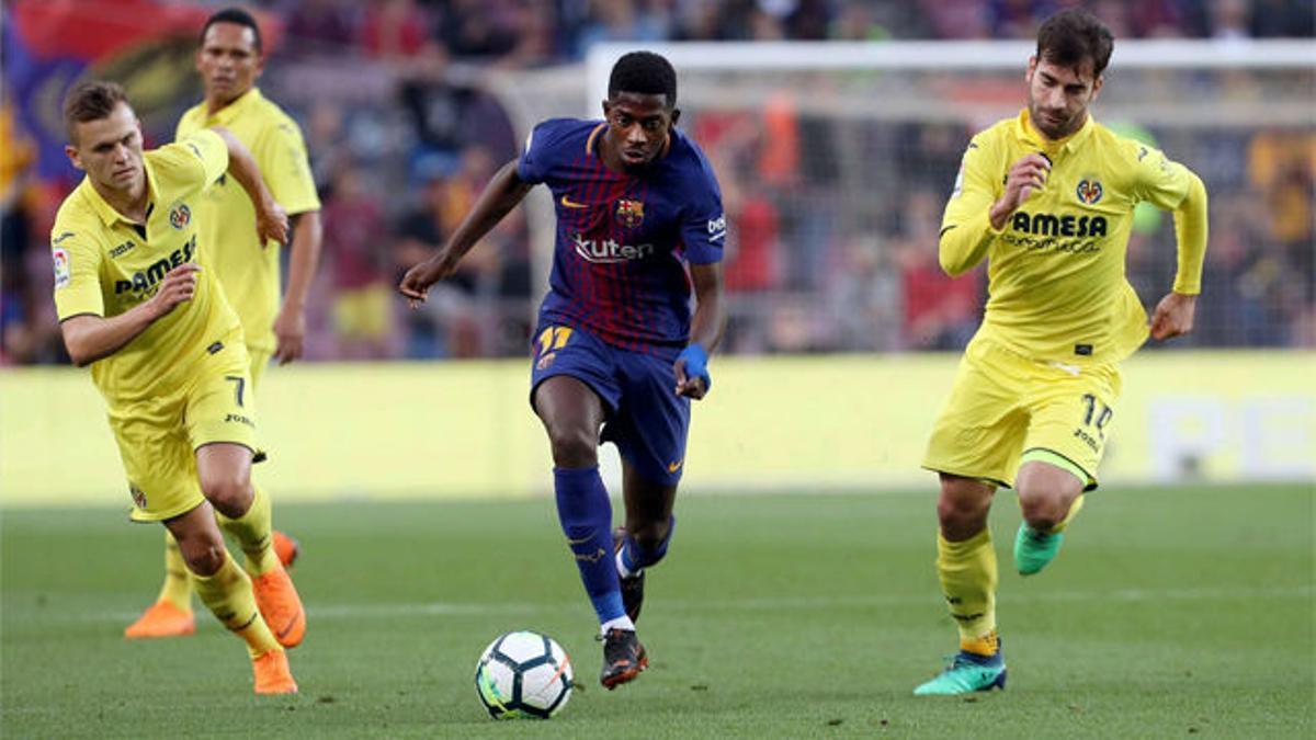 LALIGA | FC Barcelona - Villarreal (5-1): Dembélé vivió su primera gran noche en el Camp Nou con este recital