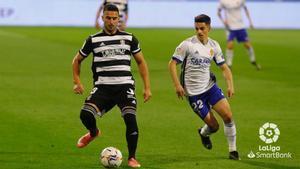 Partido sin goles entre el Zaragoza y el Cartagena