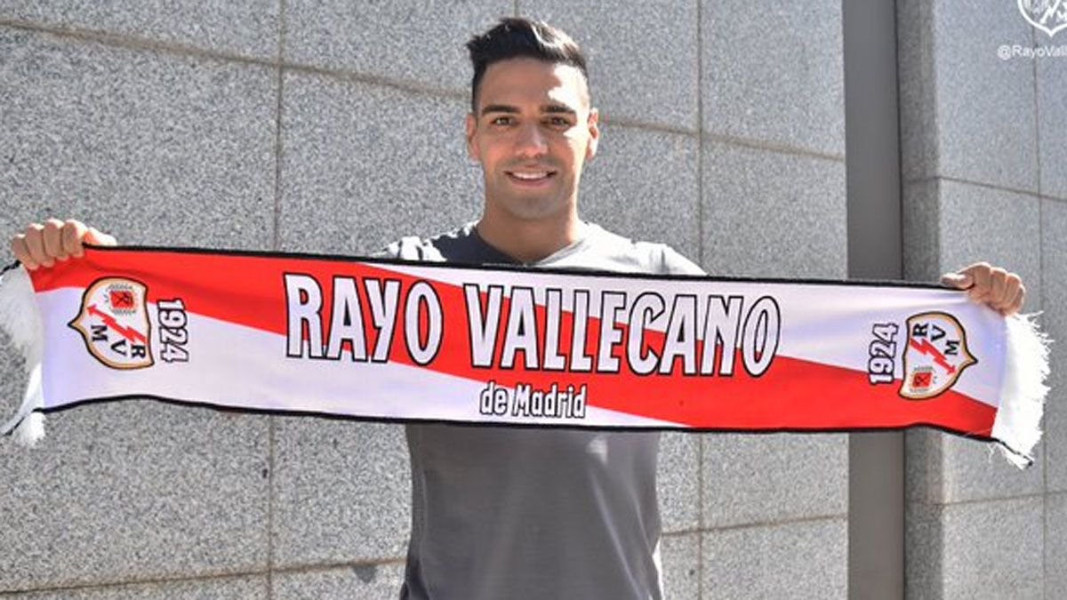 Radamel Falcao ya está en Madrid
