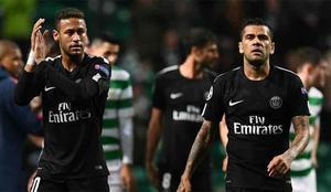 Dani Alves tomó partido a favor de Neymar