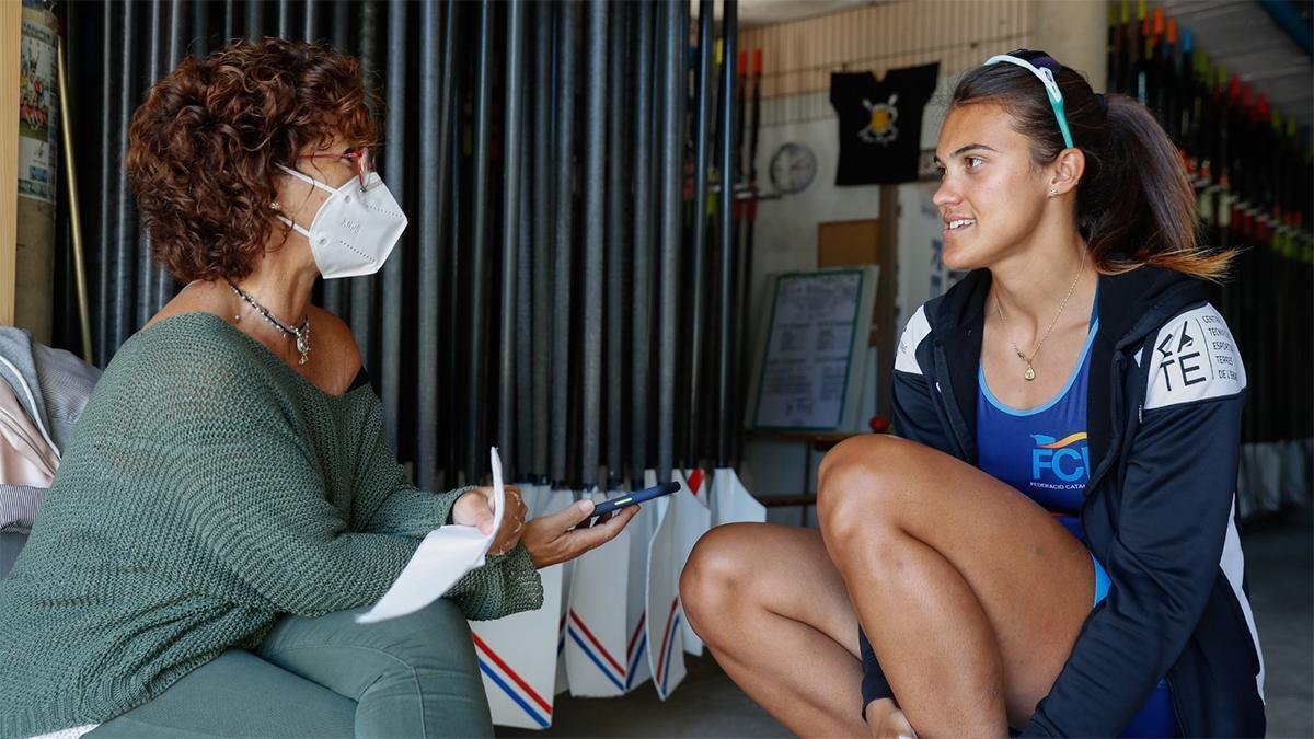 El test de SPORT a Aina Cid antes de los Juegos Olímpicos