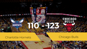 Chicago Bulls se hace con la victoria contra Charlotte Hornets por 110-123