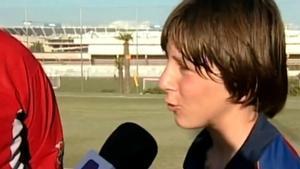 Messi cumple 20 años en el Barça