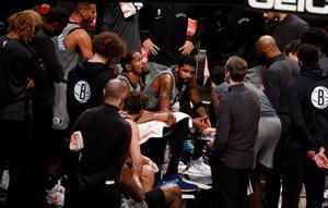Los Nets, en su visita a Washington.