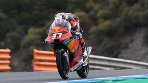 Acosta es el líder del Mundial de Moto3
