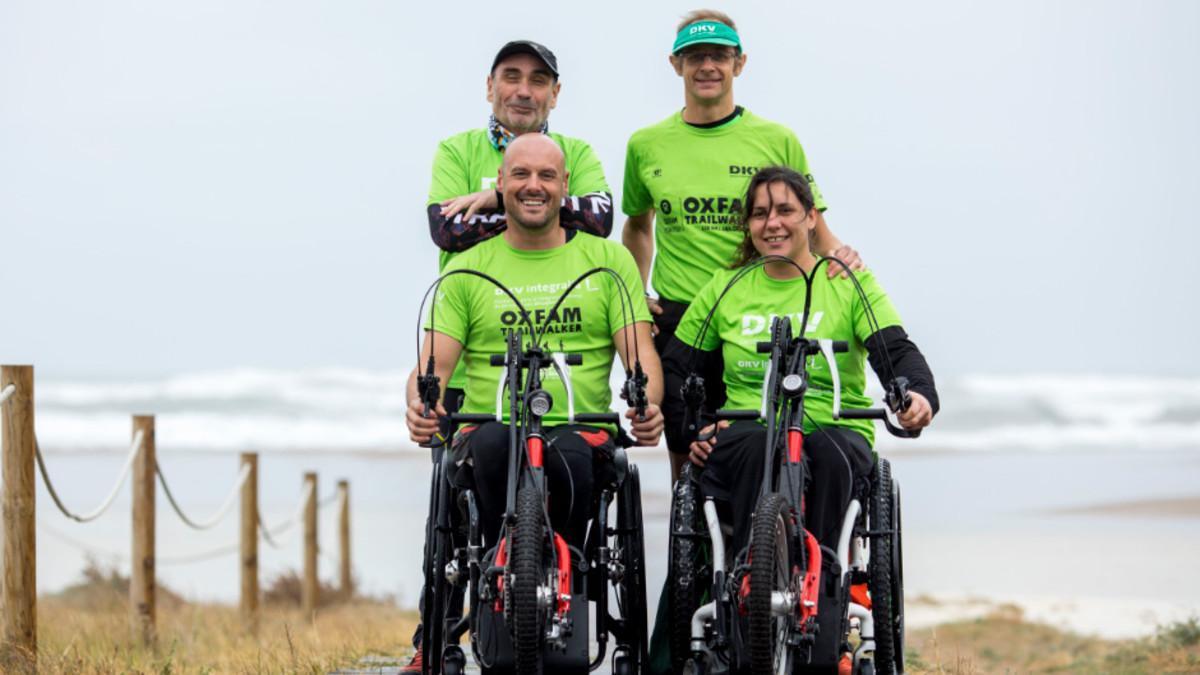 Vicente Martínez, Isaac Mateos, Elena Jacinto y David Camps forman el Dream Team Integralia