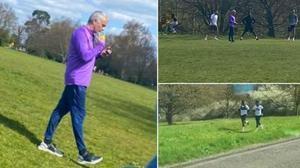 Mourinho se salta el confinamiento para entrenar en el parque a sus jugadores