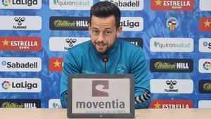 Antonio Romero en rueda de prensa