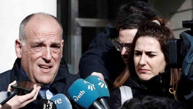 Javier Tebas reaccionó a la sanción al City