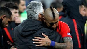 Reinaldo Rueda valoró los escenarios de futuro para Arturo Vidal en SPORT