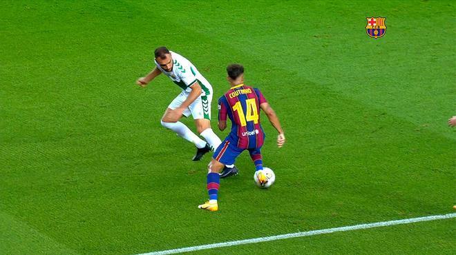 El mejor Coutinho está de vuelta. El detalle del Gamper lo dejó el brasileño