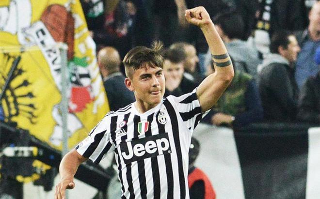 Dybala, jugador de la Juventus