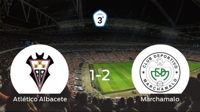 El Marchamalo vence al Atlético Albacete por 1-2