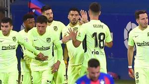 El Atlético sigue imparable en LaLiga tras ganar al Eibar