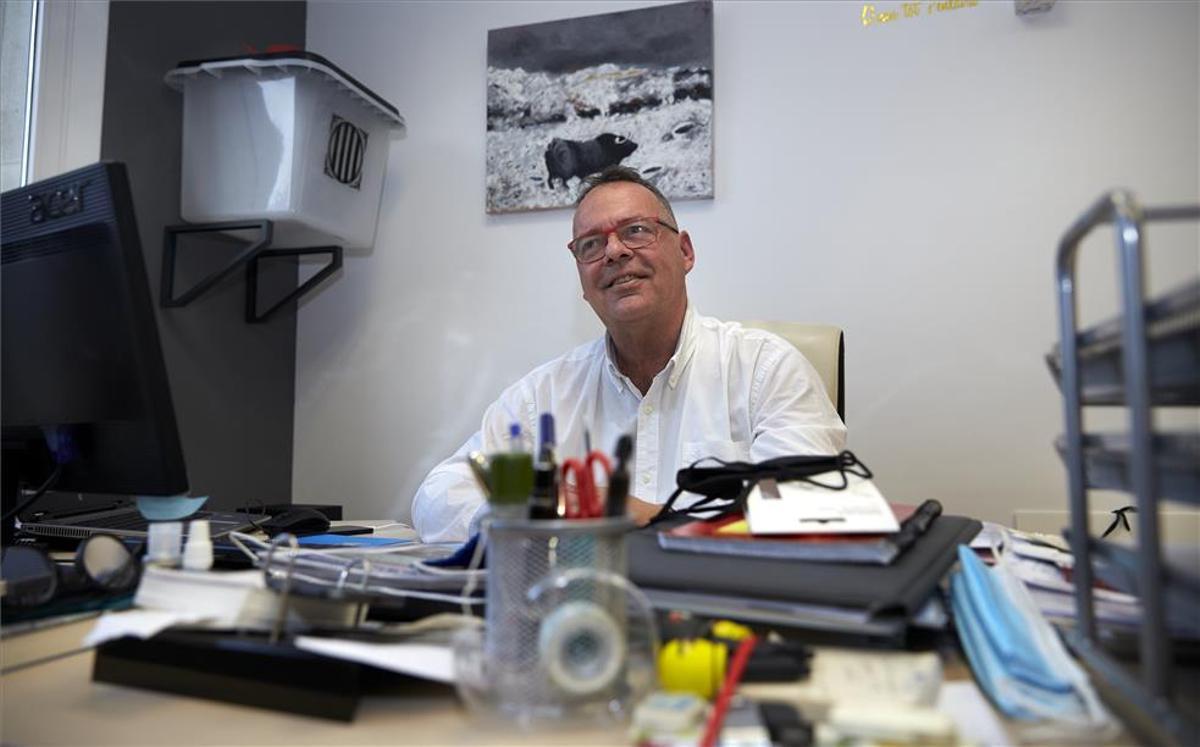 Lluís Carrasco, director de la campaña de Laporta