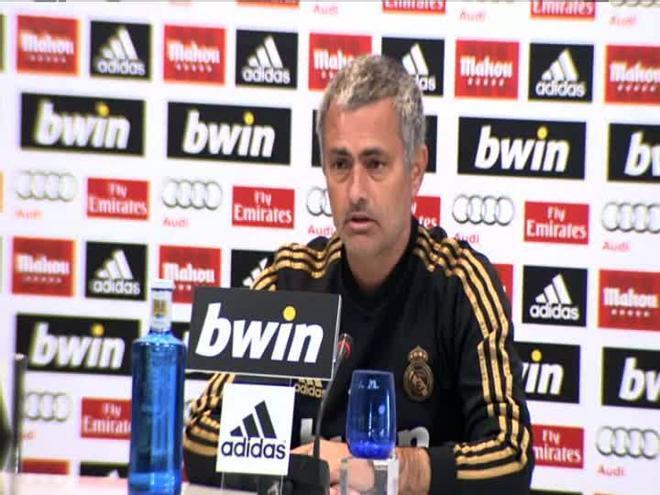 Mourinho vuelve a hablar de la afición del Madrid