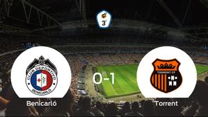 El Torrent se lleva los tres puntos frente al Benicarló (0-1)