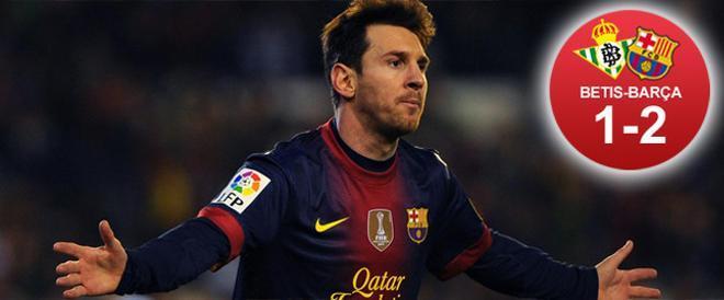 Messi batió el récord de Müller