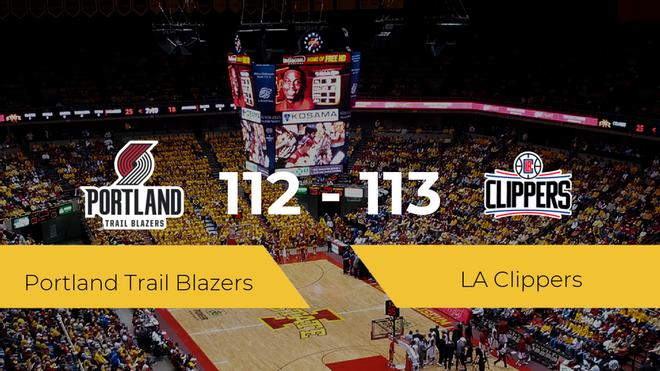 Victoria de LA Clippers ante Portland Trail Blazers por 112-113
