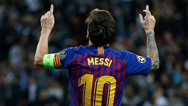 El video de la brutal exhibición de Leo Messi en Wembley