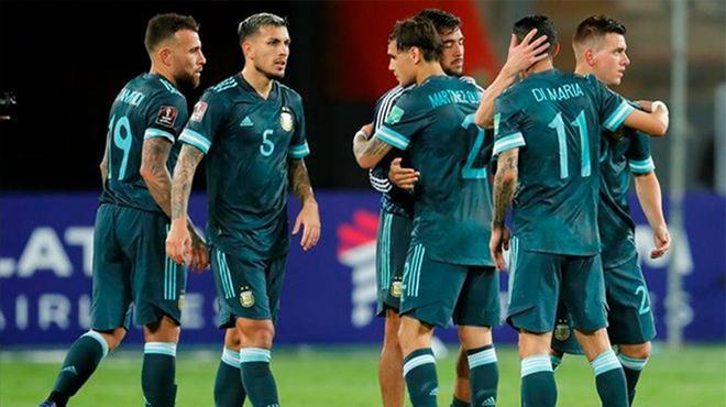 Argentina se llevó la victoria ante Perú