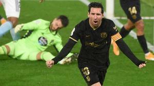 El Barça asalta Balaídos en un duro partido