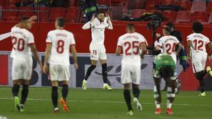 El Sevilla cuenta con dos victorias y dos derrotas en sus más recientes disputas ligueras