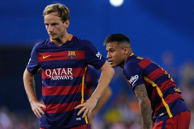 Rakitic, muy agradecido con este detalle que Neymar ha tenido hacia él