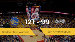 Golden State Warriors gana a San Antonio Spurs (121-99)