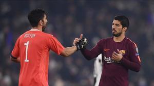 Buffon y Luis Suárez podrían ser compañeros en la Juventus