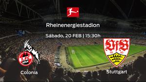 Previa del partido: el Colonia recibe en su feudo al Stuttgart