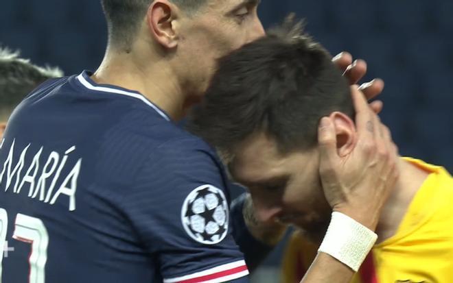 La reacción de Messi tras caer eliminado ante el PSG