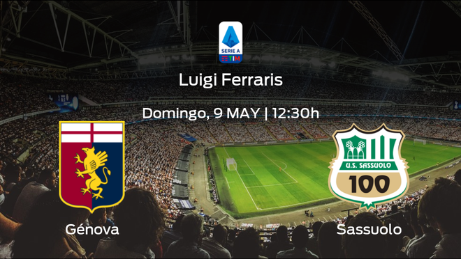 Jornada 35 de la Serie A: previa del duelo Génova - Sassuolo