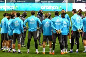 XI del Real Madrid ante el Athletic Club